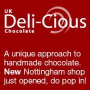 Deli-Cious Chocolates Logo