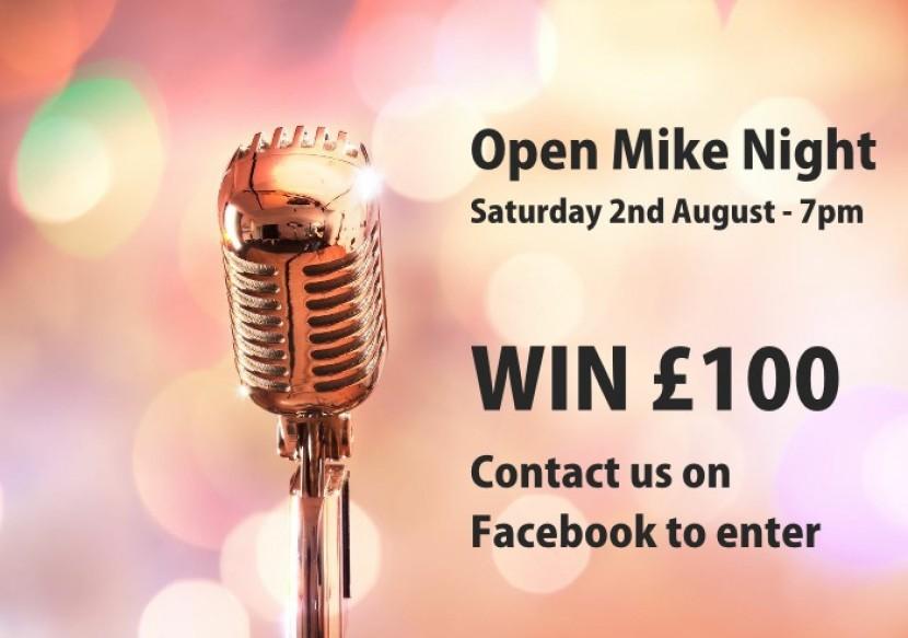 Open Mike Night - Win £100