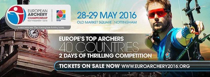 European Archery Championship: 28 & 29 May