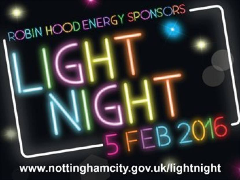 Nottingham Light Night 2016