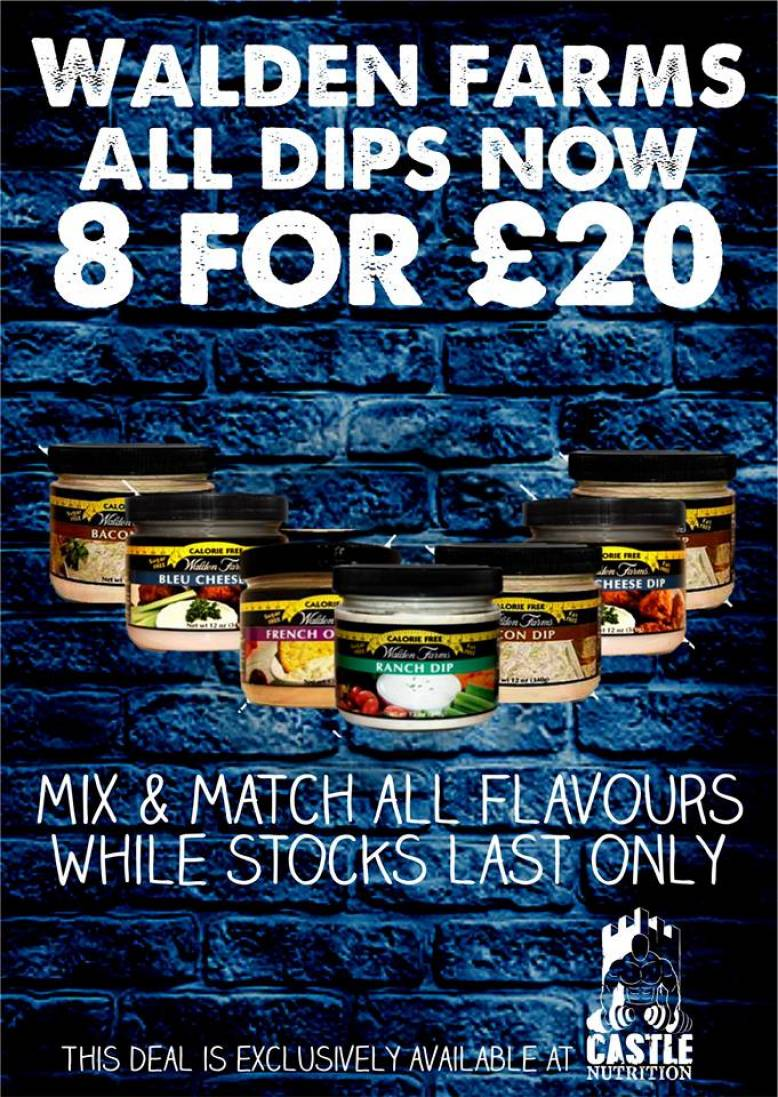 Any 8 Dips for just £20*