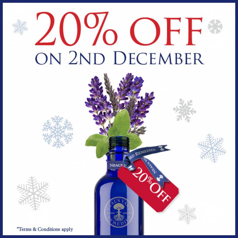 20% off Neals Yard Products - Today Only !!!