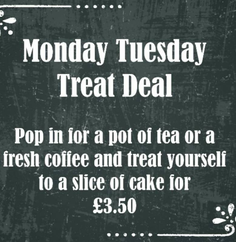 Monday, Tuesday Treat Deal