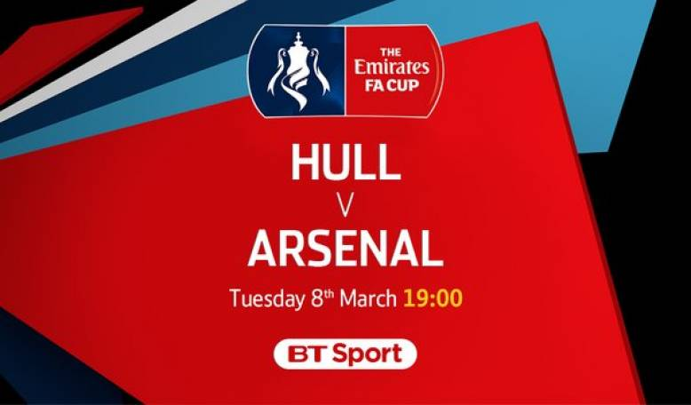 Join us for Arsenal vs Hull - Tonight at 1900