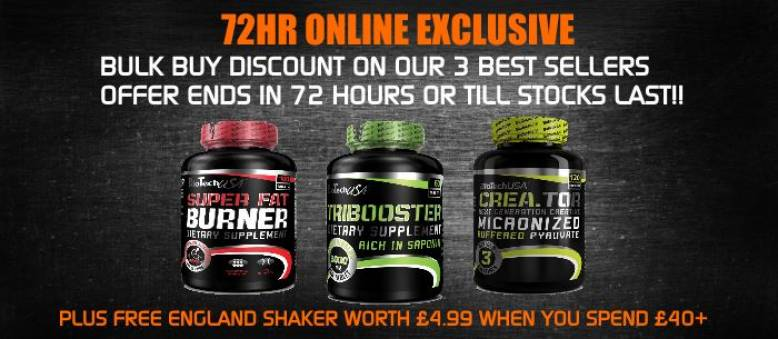 72HR OFFER - BULK BUY DISCOUNT ON OUR 3 TOP SELLERS*