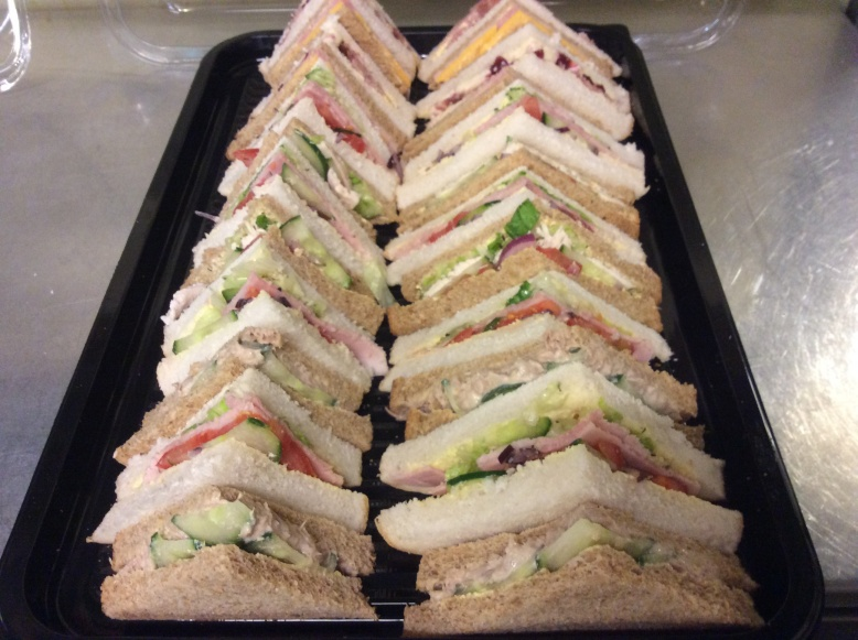 Soup and sandwich from £4.00