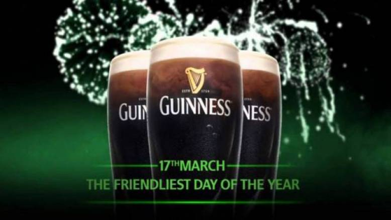 Join us for St Patrick's Day - The Friendliest Day of the Year