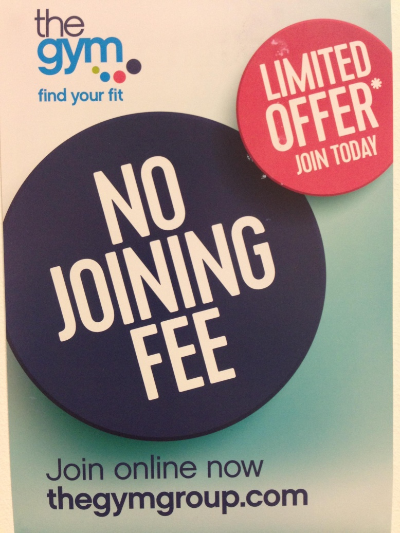 No Joining Fee @ The Gym Nottingham (Save £20)
