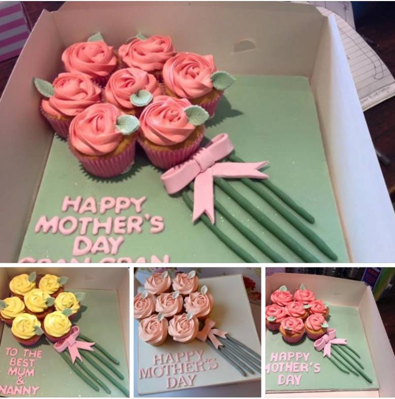 10% 0ff Mothers Day Cupcake Bouquets