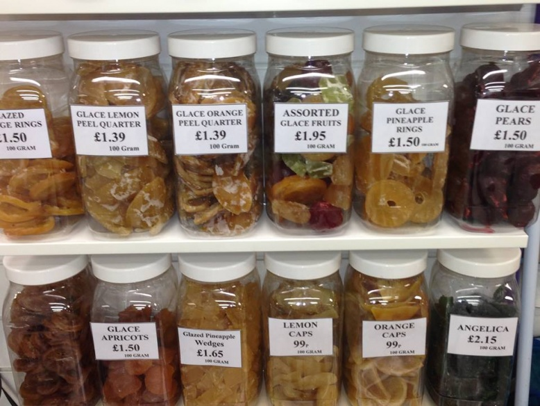 Check out our fabulous range of Glacé Fruits, starting from 99p Per 100g
