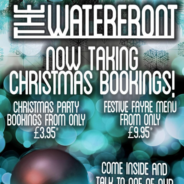 Book Your Christmas Party Now!
