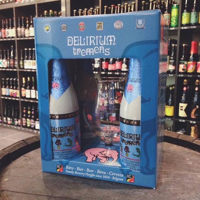 Delirium gift sets back in stock from Delirium Brewery