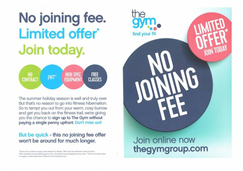 The Gym Nottingham - No Joining Fee