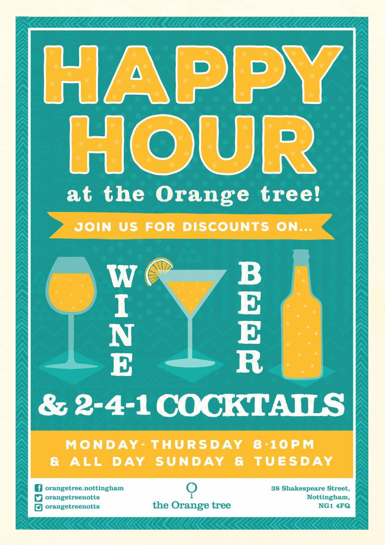 Join us for Happy Hour.! All Day Today.!!