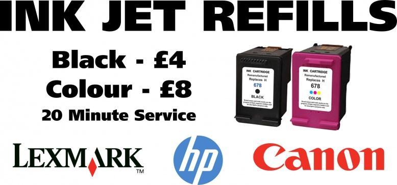 Ink Jet Refills