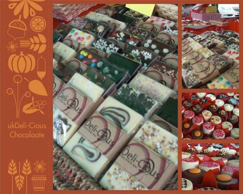 Deli-Cious Chocolate now available at Elefair - PRICES FROM £2