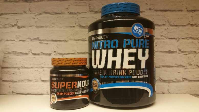 15% OFF Nitro Pure Whey when purchased with SuperNova Pre-workout*
